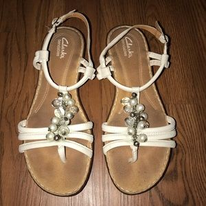 Clarks Sandals with extra comfort padding